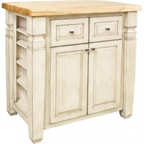 ISL12-FWH Kitchen Island