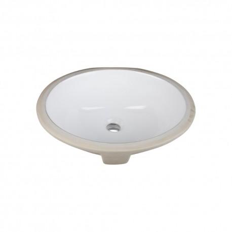 H8809WH Undermount Porcelain Sink
