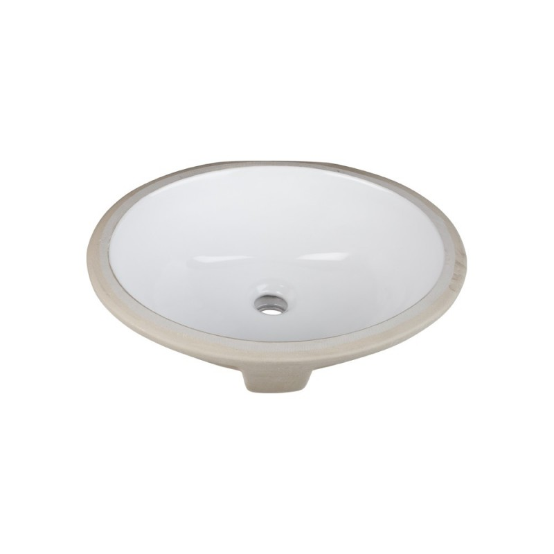 Porcelain Undermount Sink : Bath > Vanity Sinks > H8809WH Undermount Porcelain Sink