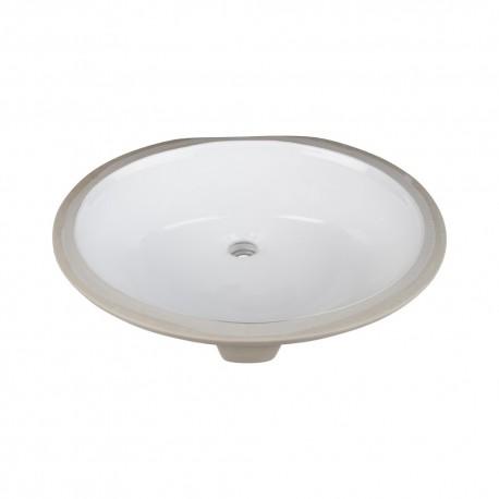 H8810WH Undermount Porcelain Sink Basin
