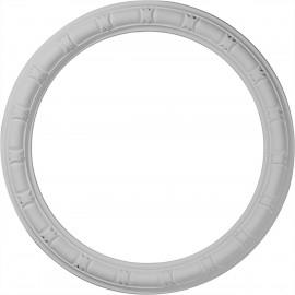 21 3/8OD x 16 7/8ID x 2 1/4W x 1P Egg & Dart Ceiling Ring