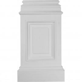 14 3/8W x 2 1/2D x 24 3/4H Classic Large Pedestal Base