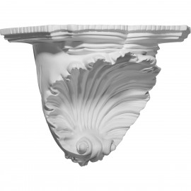 10 3/8W x 6D x 7 3/8H Shell Decorative Shelf
