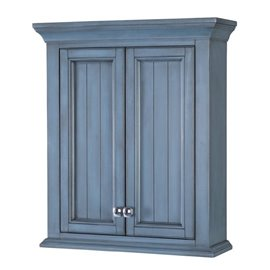 BRANTLEY 24″ X 28″ WALL CABINET - Harbor Blue Finish