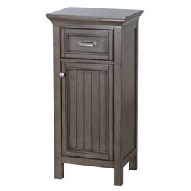 BRANTLEY FLOOR CABINET 19″ X 29-1/2″ FLOOR CABINET - Distressed Grey Finish