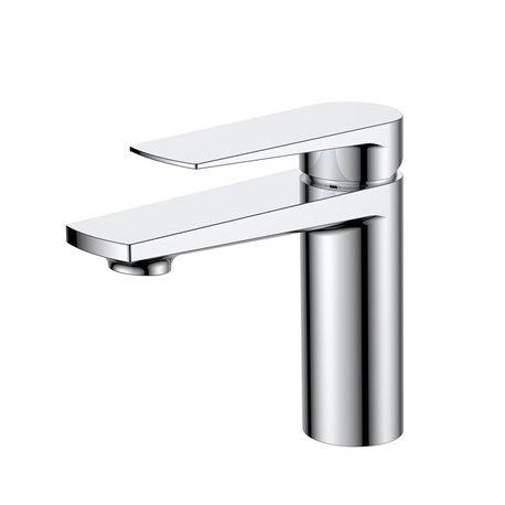 Aqua Letti Single Lever Bathroom Vanity Faucet - Chrome