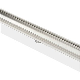 "Kube 27.5"" Linear Drain with Tile Grate"