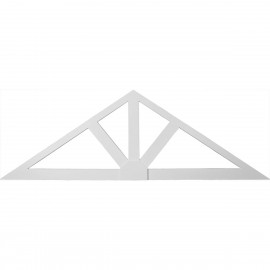 102W x 34H x 1 1/2P 8/12 Pitch Dublin Gable Pediment