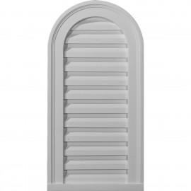 12W x 24H Cathedral Gable Vent Louver Functional