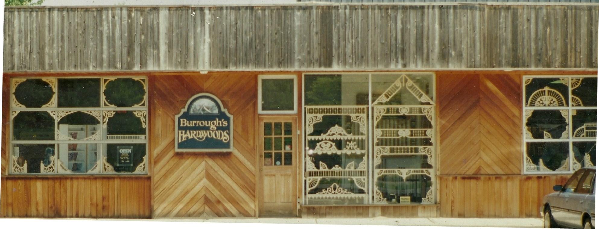 Burroughs Hardwoods Store Front