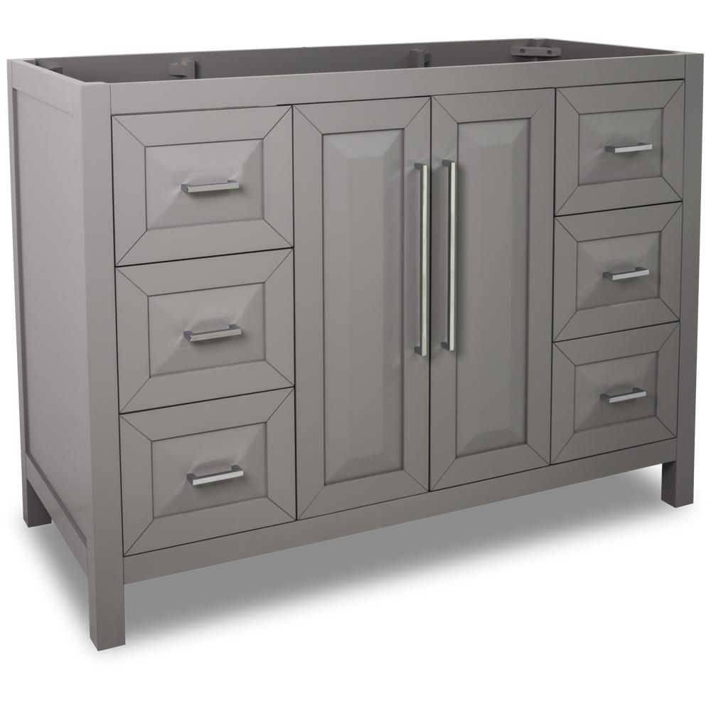 47 Grey Modern Bathroom Vanity Van100 48