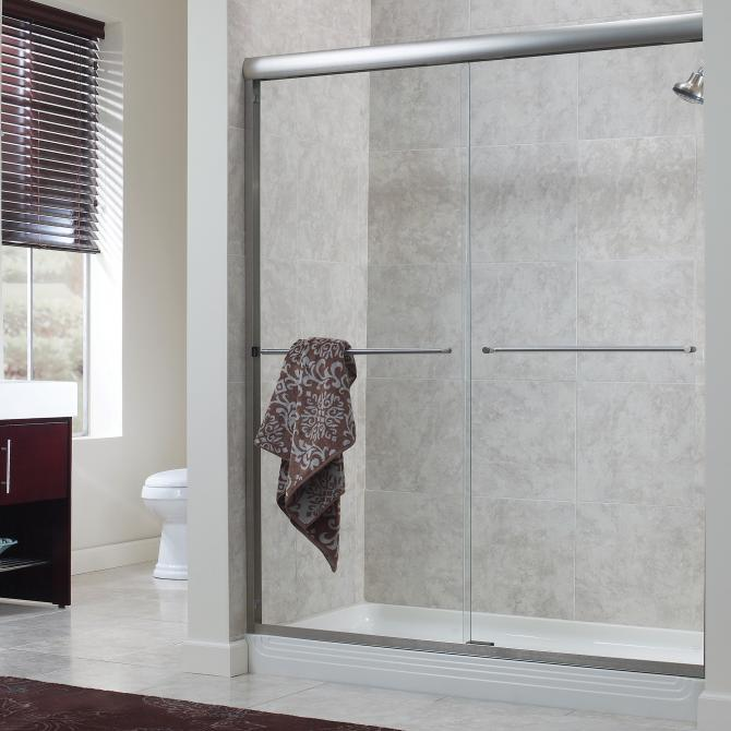 Frameless Sliding Shower Doors cvss9999-gc-sv