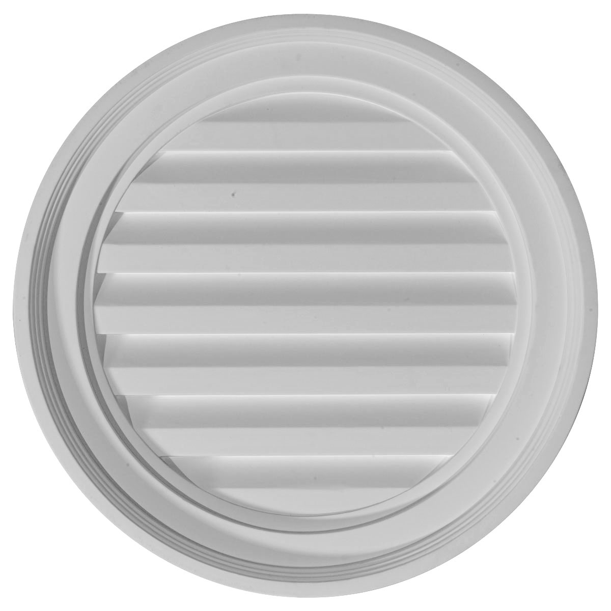 18w X 18h Round Gable Vent Louver Functional Burroughs Hardwoods Online Store