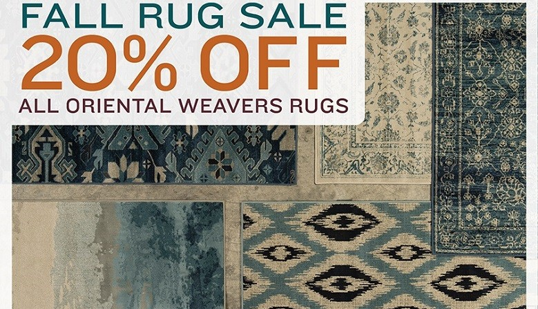 Fall Area Rug Sale