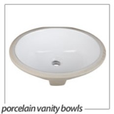 porcelain vanity sinks
