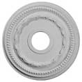 "15 3/8""OD x 3 5/8""ID x 1""P Federal Ceiling Medallion"