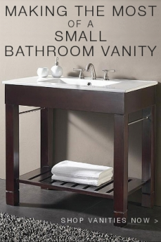 small bathroom vanities logo