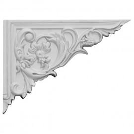 SB08X06FL-R Flower Stair Bracket Right