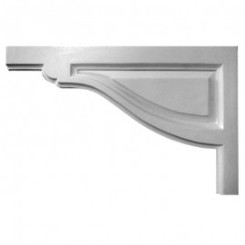 Left Large Traditional Stair Bracket - SB11X07TR-L