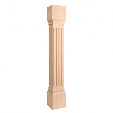 P27 Large Fluted Post