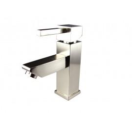 Fresca Versa Single Hole Mount Bathroom Vanity Faucet - Brushed Nickel