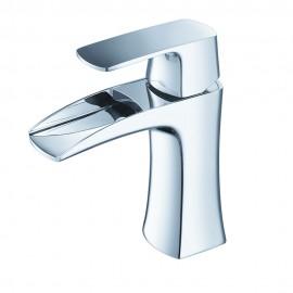 Fresca Fortore Single Hole Mount Bathroom Vanity Faucet - Chrome