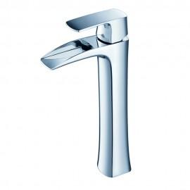 Fresca Fortore Single Hole Vessel Mount Bathroom Vanity Faucet - Chrome