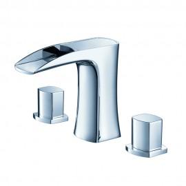Fresca Fortore Widespread Mount Bathroom Vanity Faucet - Chrome