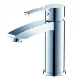 Fresca Livenza Single Hole Mount Bathroom Vanity Faucet - Chrome