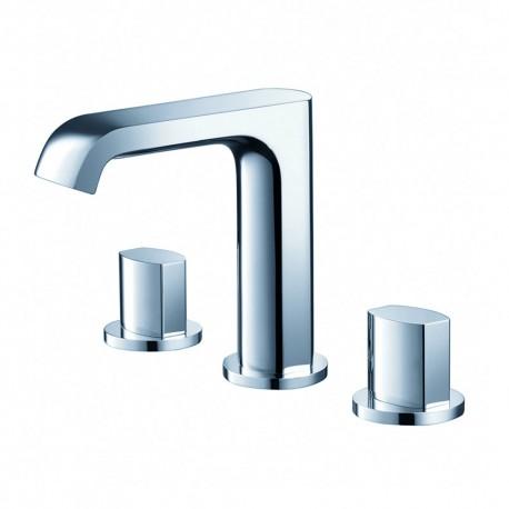 Fresca Tusciano Widespread Mount Bathroom Vanity Faucet - Chrome