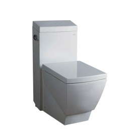 Fresca Apus One-Piece Square Toilet w/ Soft Close Seat