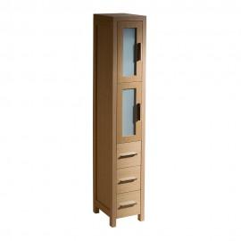 Fresca Torino Light Oak Tall Bathroom Linen Side Cabinet