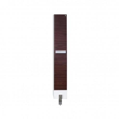Fresca Adour Dark Walnut Bathroom Linen Side Cabinet