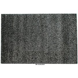 Retro Black Area Rug