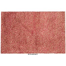 Retro Red Multi Area Rug