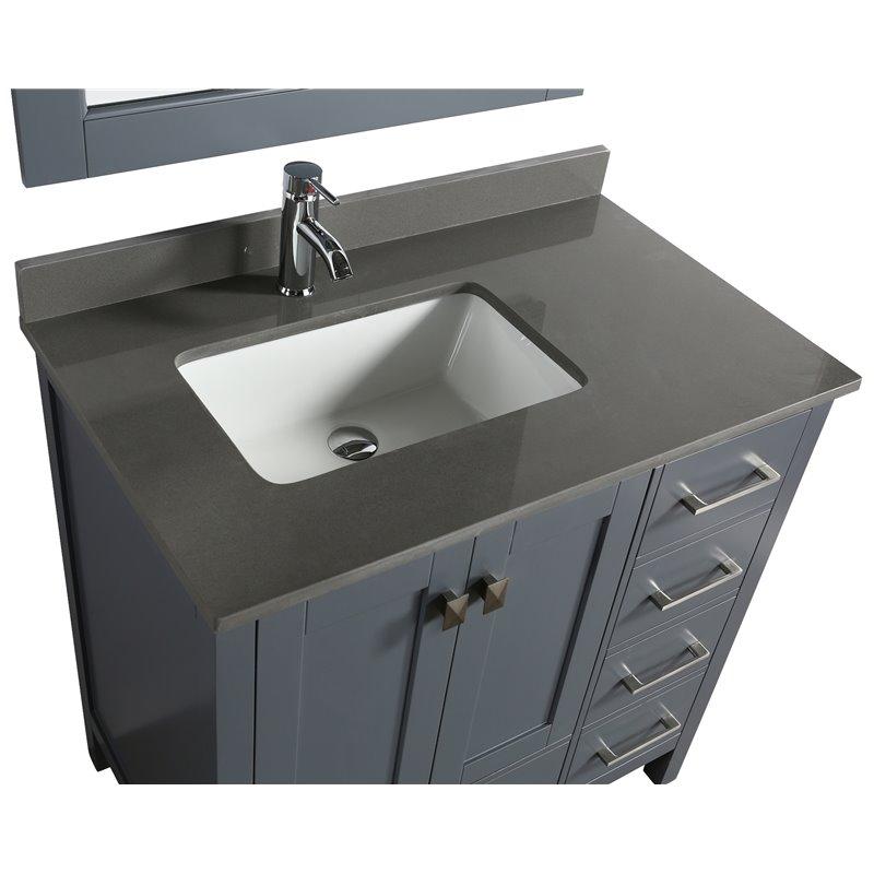 36 Vanity Top With Sink