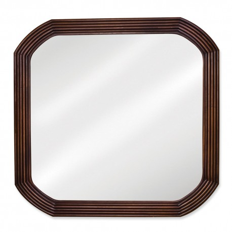 MIR025 Walnut reed-frame