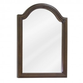 MIR029D-60 Walnut reed-frame mirror