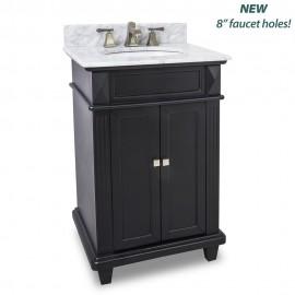 """Douglas Collection 24"""" Inch Bathroom Vanity - VAN057-T-MW"""
