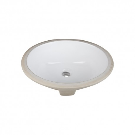 H8809WH Undermount Porcelain Sink