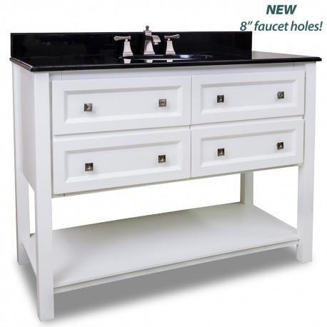 """Adler Collection 48"""" Inch Bathroom Vanity - VAN066-48-T"""