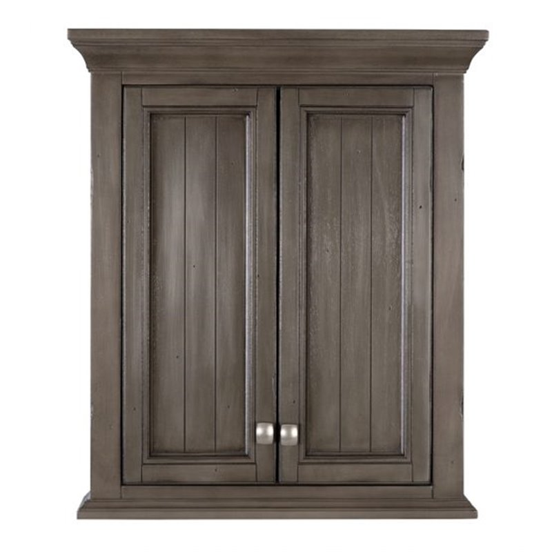 Grey Distressed Kitchen Cabinets: BRANTLEY 24″ X 28″ WALL CABINET