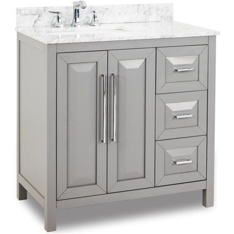 35 Grey Modern Bathroom Vanity Van100