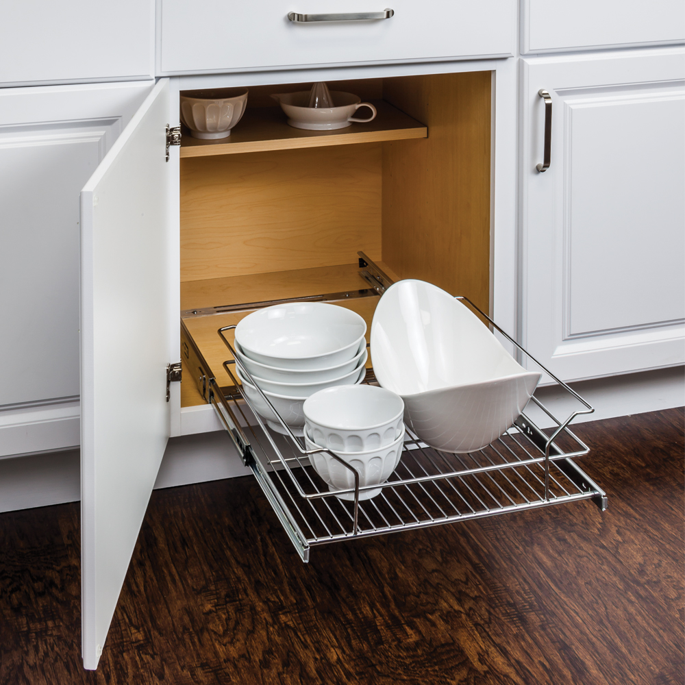 Metal Basket Pullout Organizer For 21